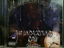 MR AGGRAVATED FOE Tha Undaground Raw RARE Fort Worth Tex rap Chef Da Kid,Davinci
