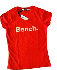 Bench Red Size 12 Ladies T Shirt