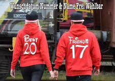 Best Friends sudadera jersey PARTNER Look 2 piezas XS-5xl Muchos Colores MR 4d7aebf73db