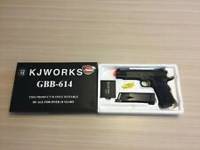 KJ Work GBB-614 1911 Gas Blowback