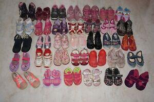 Schuhpaket Gr. 19 20 21 22 23 Mädchen Schuhe Sandalen Hausschuhe