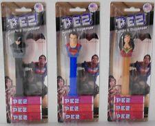 PEZ - Batman V Superman: Dawn of Justice SM, BM, WW on Cards 3 rolls of Candy