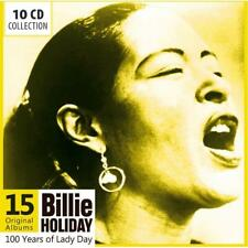 Holiday Billie - 15 ORIGINAL álbumes NUEVO CD
