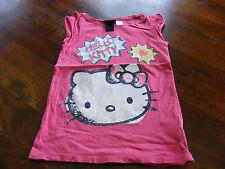 ***pinkes  Hello Kitty Shirt von H&M  in Gr. 110 /116   ***