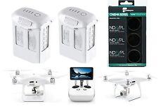 DJI Phantom 4 Pro Plus Drohne | 2x Akku | PolarPro Filter |