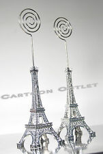10 Pc Eiffel Tower Figures Card Holder Party Favors Wedding Bridal Quinceanera