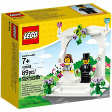 LEGO Wedding Favour Set 40165 - Bride and Groom Gift Cake Topper Minifigures NEW