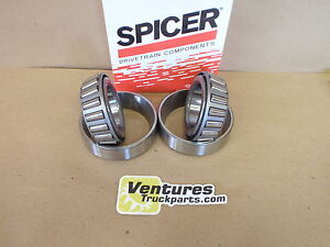 DIFF CARRIER  BEARINGS CHEVY GMC K5 K10 K20 1/2 & 3/4  DANA 44  FRONT SPICER