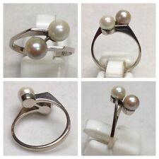 Eleganter 585 er Perlen Goldring Gold Ring Perlenschmuck Perlenring Perle