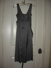 NWT WOMENS S RIPE LIMITED MATERNITY EVENING COCKTAIL CLAIRE DRESS SATIN