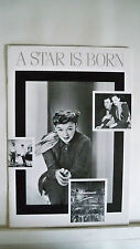 A STAR IS BORN Souvenir Program JUDY GARLAND / JAMES MASON Restoration 1983