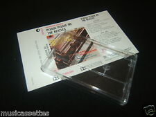 THE BEATLES Please Please Me NEW ZEALAND CASSETTE UNUSED Inlay Card