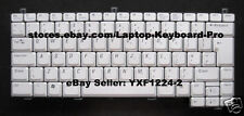 Keyboard for Dell XPS M1210 - Silver - UK English
