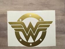 Wonder Woman Decal 3x3