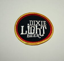 Vintage Dixie Light Beer Distributor Cloth Patch 1980s NOS New