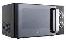 Breville B17E9CMSB 800W Compact Freestanding Manual 17L Microwave Black