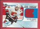 2005-06 NHL Upper Deck ICE Cool Threads Jersey # CT-ML Matthew Lombardi