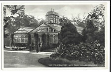Wolverhampton, The Conservatory, West Park PPC, 1926 Say it By Telephone PMK