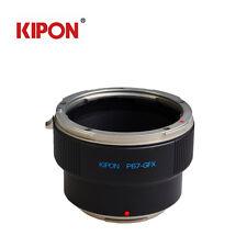NEW Kipon Adapter For PK Pentax 67 Lens to FUJI Fujifilm G-Mount GFX 50S Camera