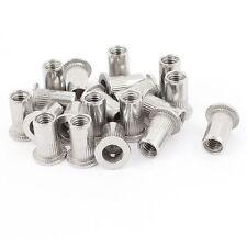 20 Pcs 304 Stainless Steel Rivet Nut Rivnut Insert Nutsert M5x13mm CR