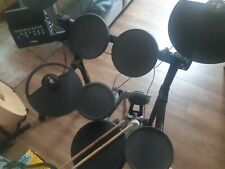 Yamaha DTX450K  Electronic Drum Kit and (as new) Pearl Stool