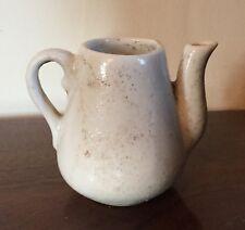 Miniature Antique Chinese Porcelain Tea Pot Teapot Blanc de Chine White Ewer