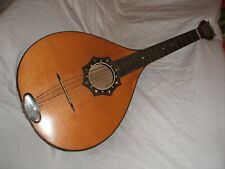 antique old cittern cister  9-string hamburger böhmische waldzither waldoline