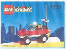 LEGO SET 6525 - BLAZE COMMANDER (Town / Fire Series)  Complete