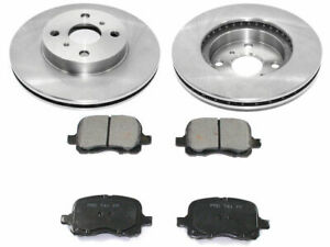For 1998-2002 Toyota Corolla Brake Pad and Rotor Kit Front 69914KH 1999 2001