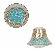 Village Candle Oasis Candle Plate & Shade Gift Set NEW  26975