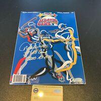 """Derek Jeter """"2000 All Star MVP"""" Signed 2000 All Star Game Program Steiner COA"""