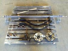 TRAILER HEAVY DUTY SINGLE axle kit 750kg 45MM AXLE 6 STUD  box boat spare parts