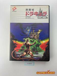 CASTLEVANIA Akumajo Dracula Konami Sony MSX JAPAN Ref:316854