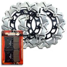 Yamaha Front Brake Disc Rotor + Pads VMX 12 V-Max [1993-2007] VMX 1200 VMax NEW