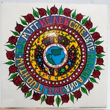 NEW Vintage Grateful Dead Without Love and a Dream It Will Never... Window Decal