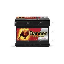 Batteria Automobile Power Bull Banner P6009 12v 60ah 540A 241x175x175mm