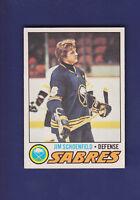Jim Schoenfeld 1977-78 O-PEE-CHEE OPC Hockey #108 (EXMT+) Buffalo Sabres