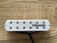 Warman Maelstrom Bridge position single coil sized humbucker white version