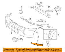 TOYOTA OEM 05-11 Tacoma Front Bumper-Bumper Filler Left 5251304901