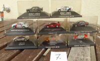 Herpa Konvolut 1:87 H0, 8 Stück PKW-DTM Rennwagen BMW, Ferrari, MB Mercedes, Aud