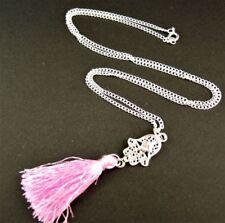 Platinum Plated Longer than 90 Fashion Necklaces & Pendants