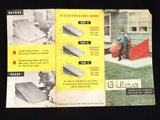 BILCO Basement Doors Antique Advertisement/Brochure 1954~New Haven, CT Ephemera