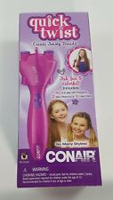 New Conair Quick Twist Hair Braid Maker With Accessories Battery Operated