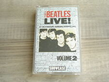 THE BEATLES cassette tape Live At The Star Club Hamburg Germany 1962 Volume 2