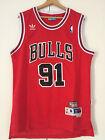 Canotta nba basket Dennis Rodman jersey Chicago Bulls maglia Retro S/M/L/XL/XXL