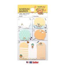Sanrio Gudetama Scheduler Memo Pad Sticky Note 7 Design 140 Sheets