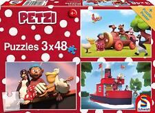 Der Grüffelo 3 x 24 Teile Puzzle Spiel Deutsch 2017 Mein Freund der Grüffelo