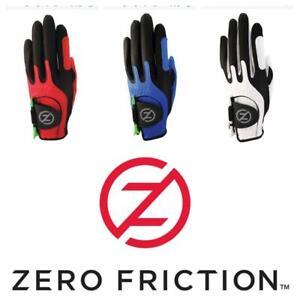Zero Friction Junior Golf Glove, Left Hand, One Size golf, Red, White or Blue