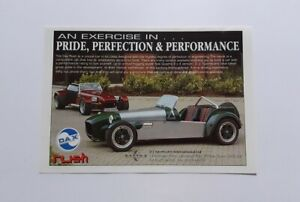 Dax Rush Advert from 1996 - Original Ad Advertisement Kit Car