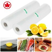 4Pcs Commercial Vacuum Sealer Bag Rolls Food saver Package Food Seal Storage Bag